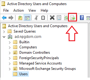 Powershell: Export Active Directory Users to CSV
