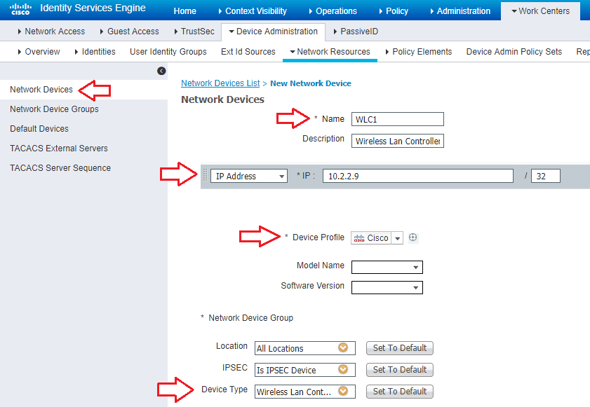 How to Configure Cisco WLC 8 5 to use TACACS+ with Cisco ISE 2 4