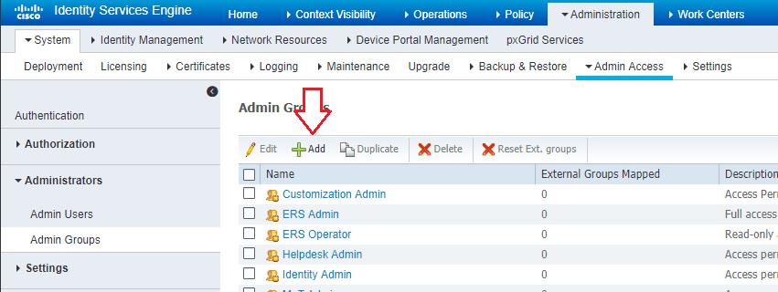 Cisco ISE 2 4 Active Directory Admin Login Configuration