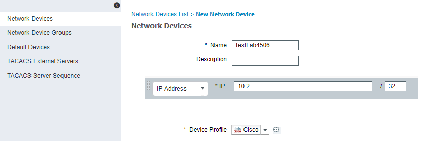 Configure New Cisco ISE 2 4 Install for Use as TACACS+ Server