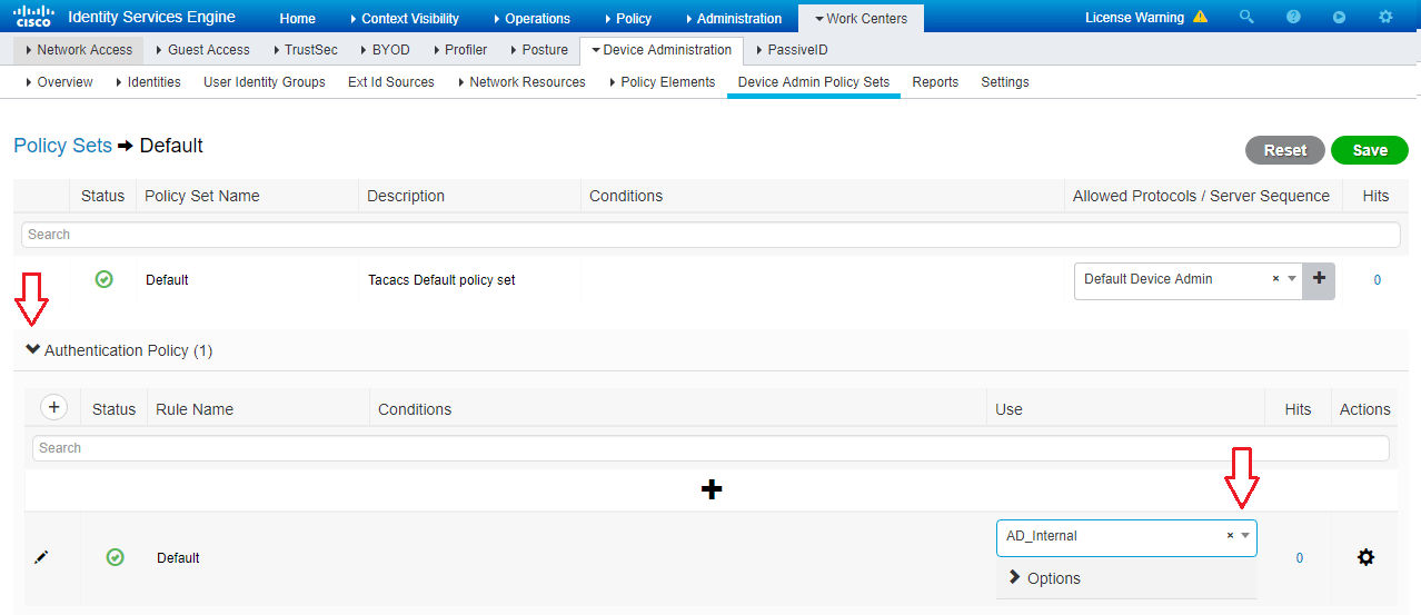 Configure New Cisco ISE 2 4 Install for Use as TACACS+