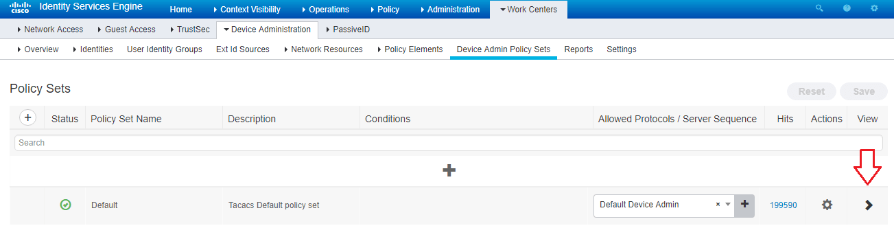 Configure Cisco Prime TACACS+ Authentication w/ ISE 2 4