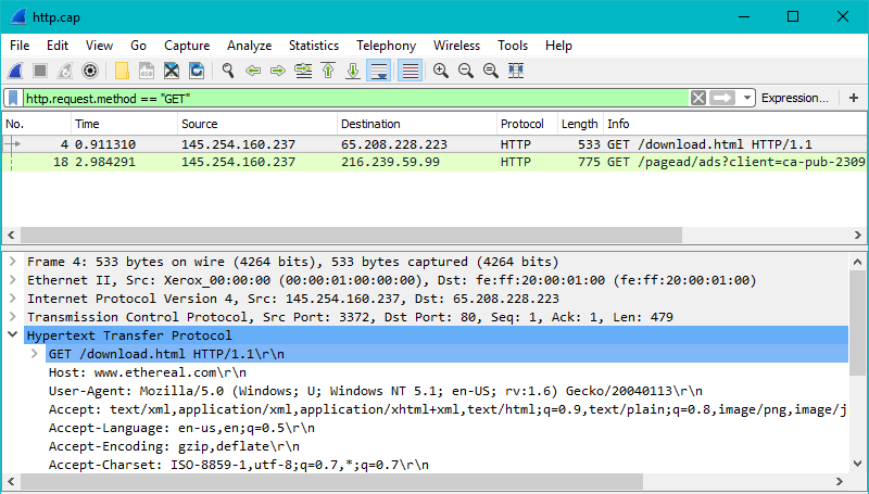 How to Filter HTTP Traffic in Wireshark | NetworkProGuide
